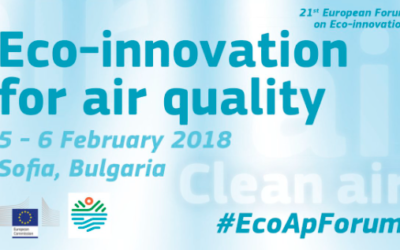 iSCAPE at the European Forum on Eco-innovation