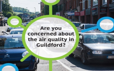Are you concerned about the air quality in Guildford? – Opportunity to take part in a research study