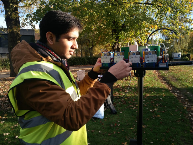 Guildford Living Lab Citizen Science Activity kicks-off with testing of sensor kits