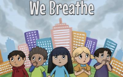 """The Air We Breathe"" iSCAPE children's book now out"