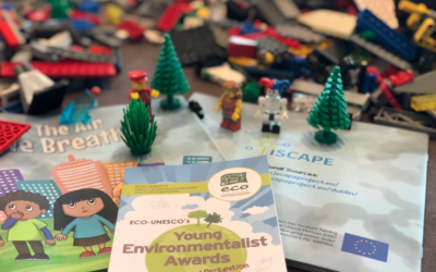 iSCAPE Lego workshops at the ECO UNESCO Young Environmentalist Awards (YEA)