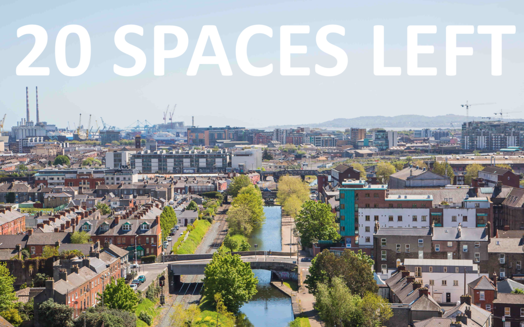 20 spaces left for the iSCAPE Final event in Dublin