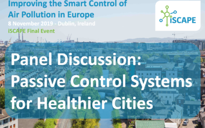 iSCAPE Final event panel discussion: Passive Control Systems for Healthier Cities