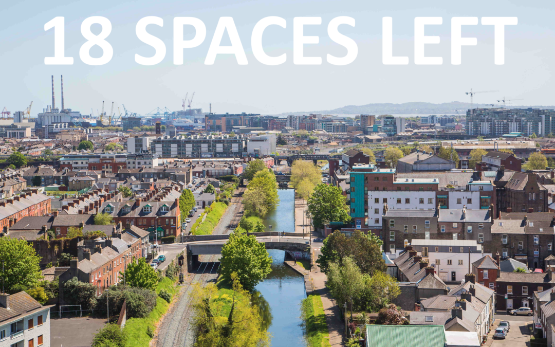 18 spaces left for the iSCAPE Final Event in Dublin